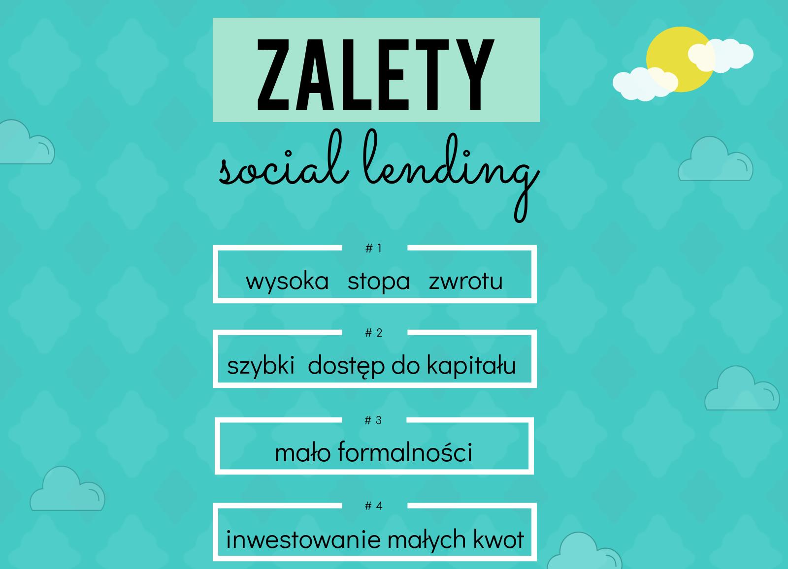 zalety social lending Social lending, pożyczki społecznościowe: czego nie wiecie o inwestowaniu?