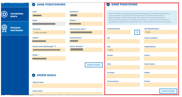 podatek social lending RFL.com.pl: inwestycje krok po kroku